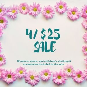 Other - 4/$25 SALE